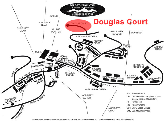 Douglas Court Map