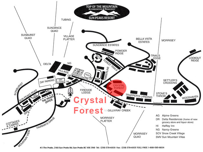 Crystal Forest Map